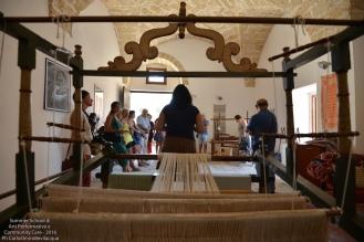 Melissa Calò ci parla di questi bei telai conservati in un'altra sala del palazzo