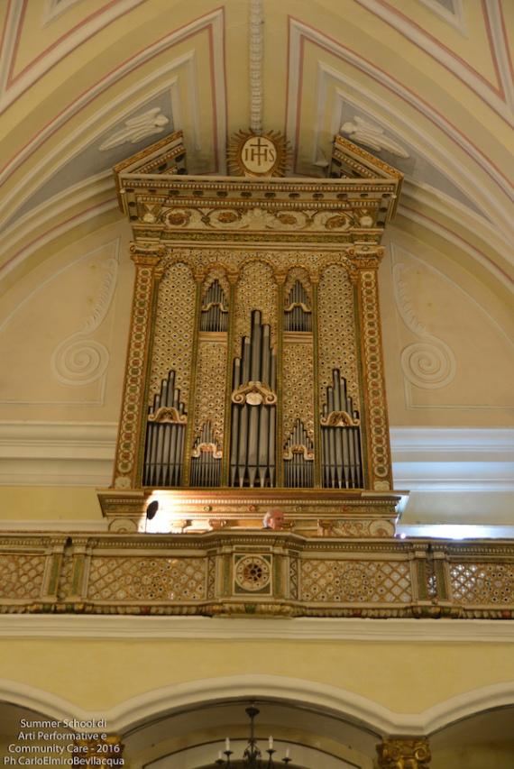 L'Organo della Chiesa di Salve: è arrivato il momento del nostro dono alla comunità...