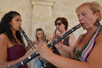 ...i clarinetti...