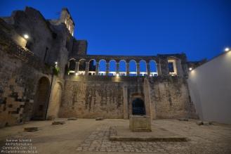 Finito il momento riflessivo ci aspetta il bellissimo chiostro del Convento dove si terrà il nostro baratto di commiato dalla comunità