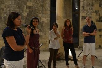 ...Antonella Corciulo, in rappresentazione dell'Associazione Borghi Autentici di Italia, che ha patrocinato la nostra SummerSchool...