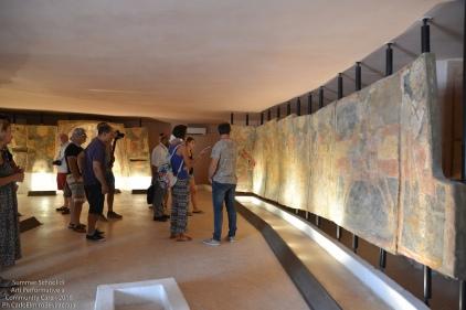 e gli affreschi della Cripta di Santa Maria degli Angeli