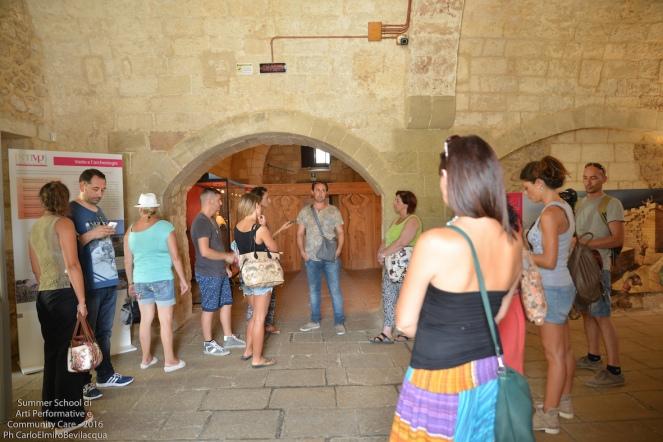 Torniamo a Vaste e visitiamo il Museo archeologico del Palazzo Baronale