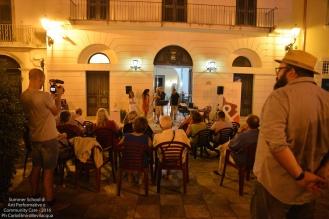 Il nostro baratto con la comunità di Poggiardo, la performance di chiusura giornata...