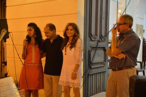 Presentiamo il duo di artisti che sta per esibirsi: Andrea Gargiulo e Anna Maria Cappiello
