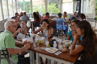 Pausa pranzo al Bar della Villa di Alessano
