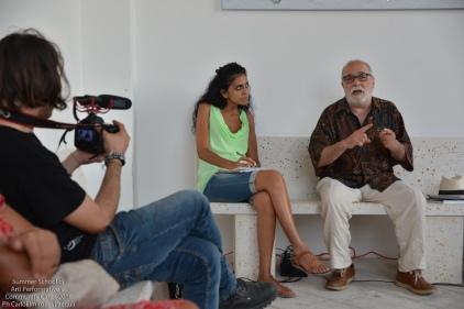 E' il turno di Antonio De Carlo, scenografo e regista teatrale, che ci fa entrare nel mondo affascinante del mestiere dello scenotecnico
